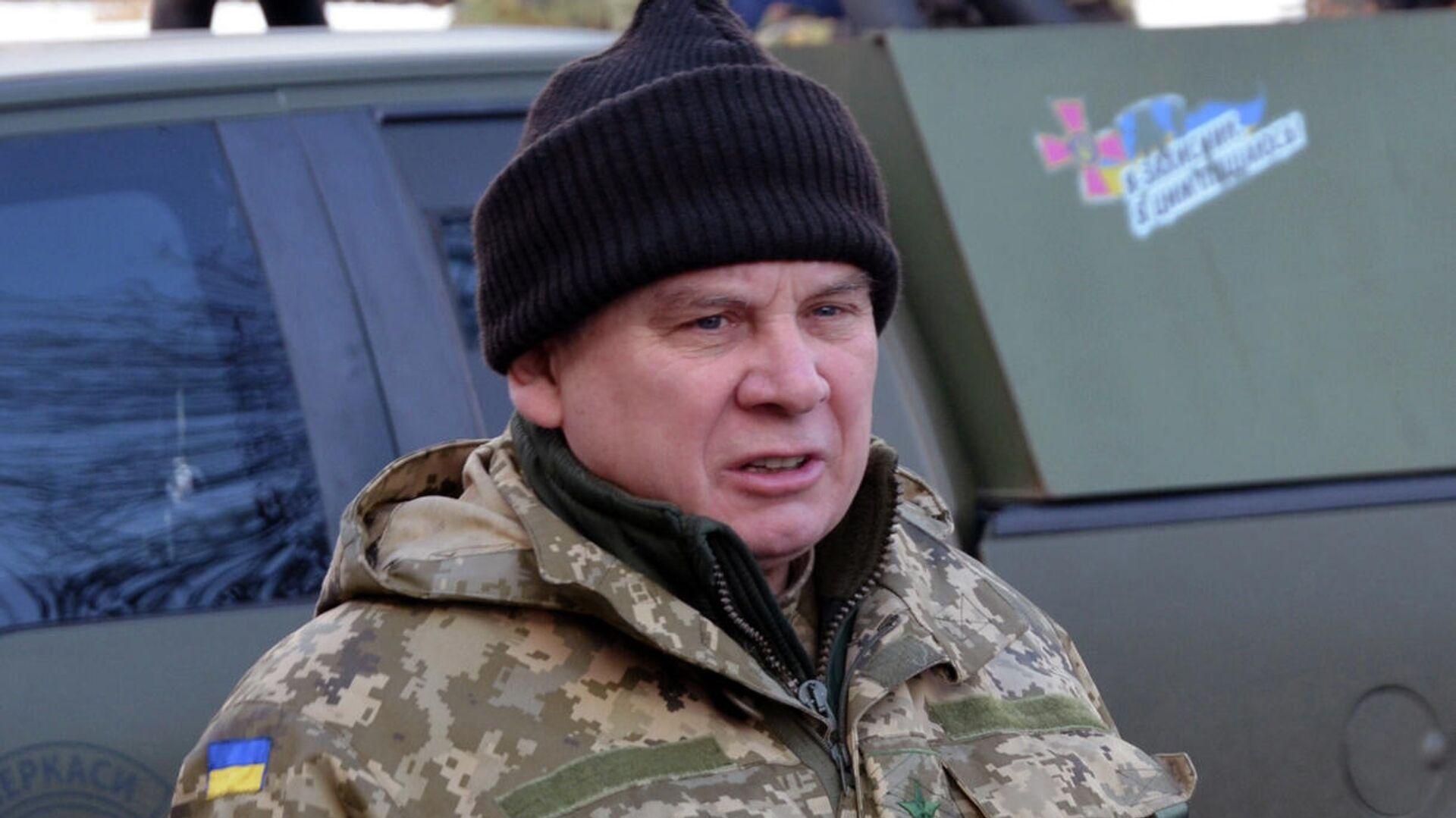 Генерал-лейтенант Вооруженных сил Украины в отставке Андрей Васильевич Таран - РИА Новости, 1920, 14.02.2021
