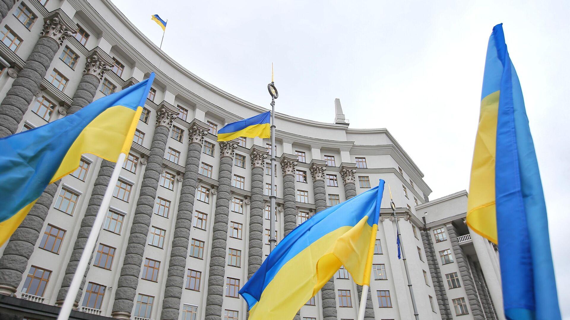 Здание правительства Украины в Киеве - РИА Новости, 1920, 10.04.2021