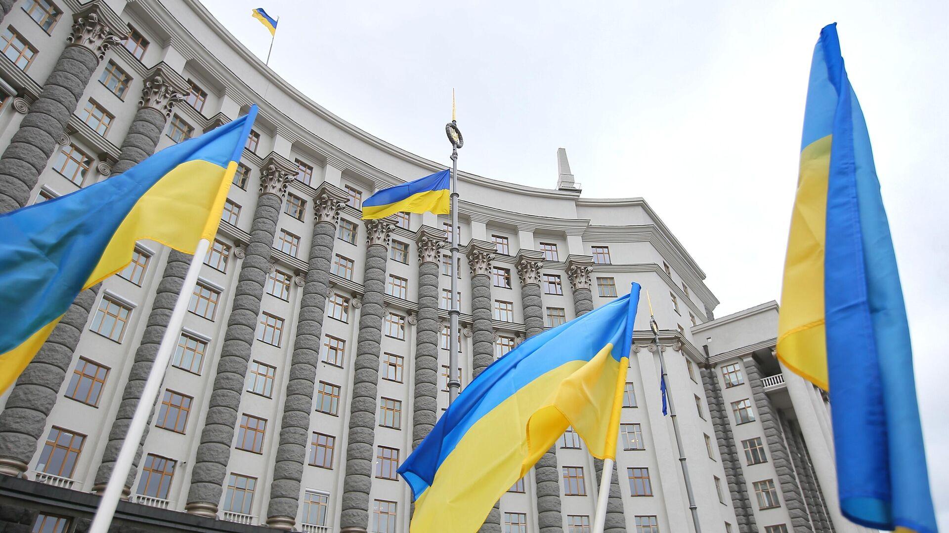 Здание правительства Украины в Киеве - РИА Новости, 1920, 04.06.2020