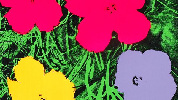 Цветы Энди Уорхол