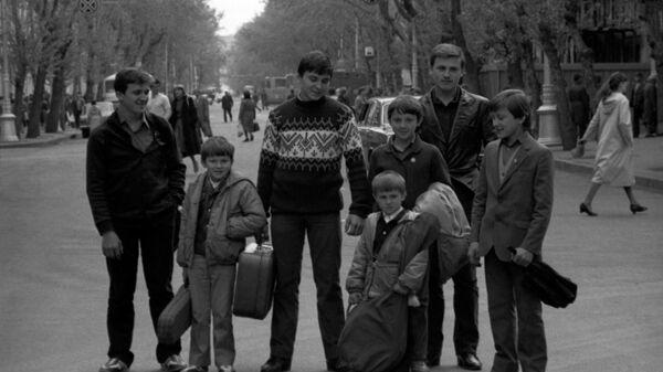 Семейный джазовый самодеятельный ансамбль Семь Симеонов семьи Овечкиных из Иркутска