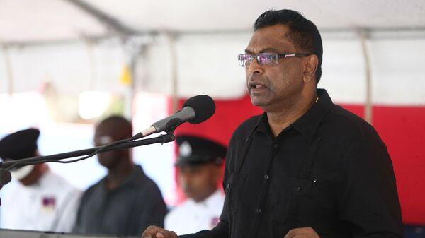 Министр общественной безопасности Гайаны Хемраж Рамжаттан