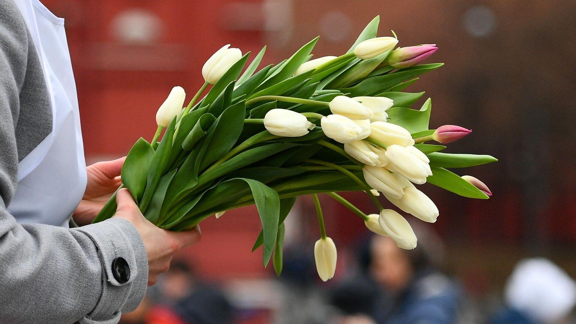 Празднование Международного женского дня в Москве - РИА Новости, 1920, 08.09.2020
