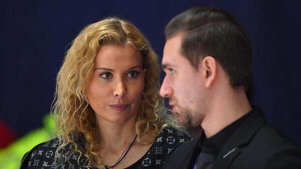 Этери Тутберидзе и хореограф Даниил Глейхенгауз