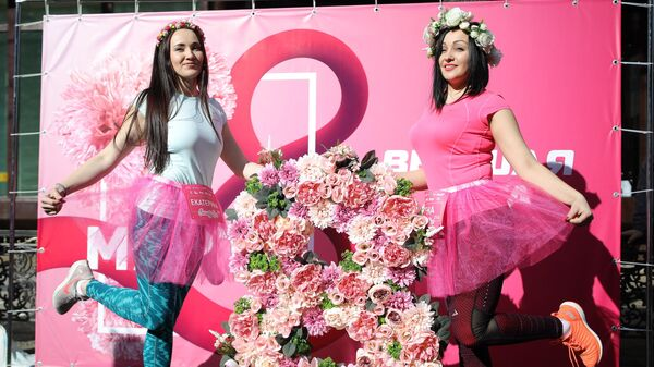 Участницы женского забега Beauty Run в Краснодаре