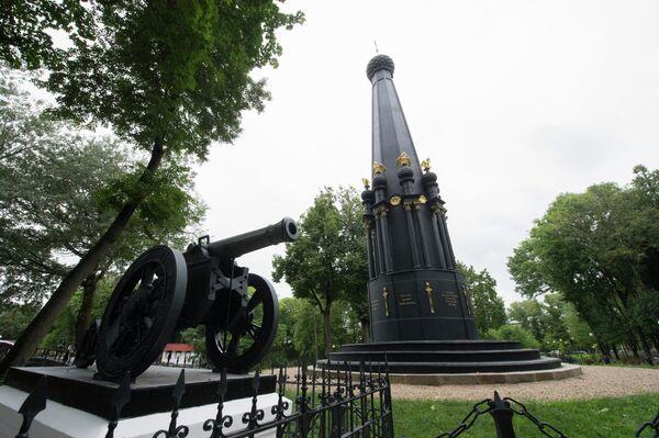 Памятник защитникам Смоленска в Лопатинском саду
