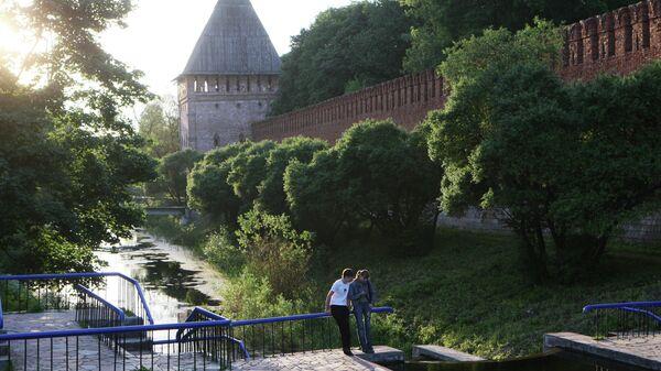 Озеро Собачка в Смоленске