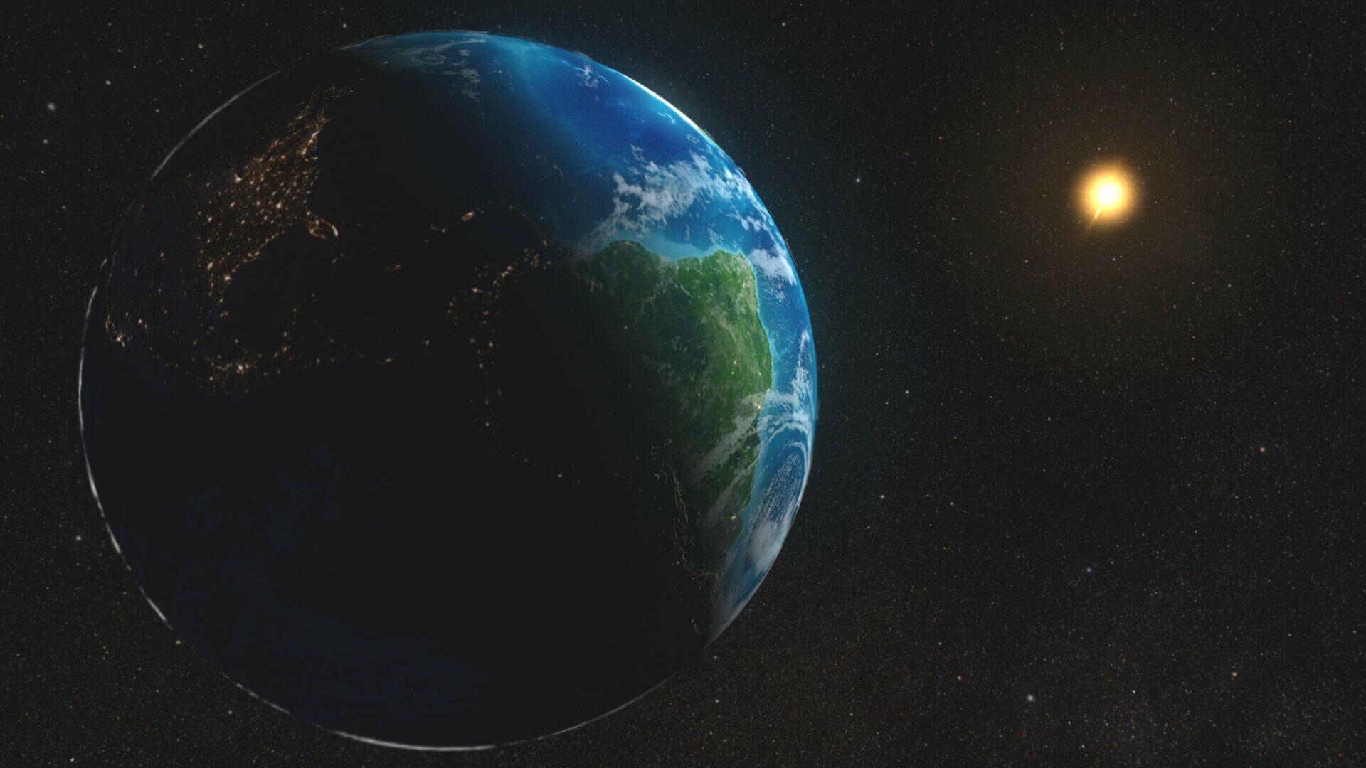 Расстояние от Земли до Солнца - РИА Новости, 1920, 18.03.2020