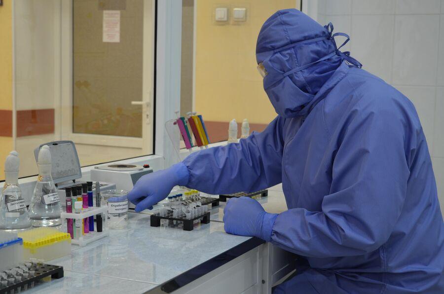 Учебная лаборатория академии РХБЗ