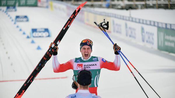 Норвежский лыжник Пол Голберг