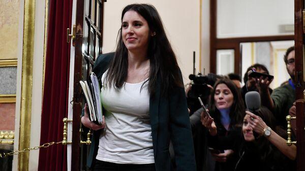 Депутат от партии левого крыла Подемос Ирен Монтеро
