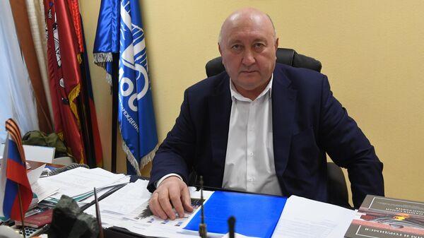 Руководитель ГБУ Гормост Юрий Иванков