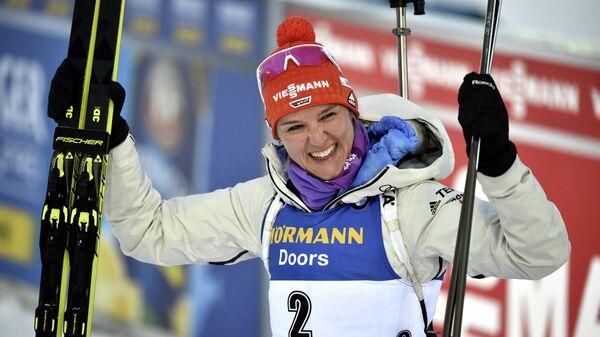 Биатлонистка Дениз Херрманн (Германия)