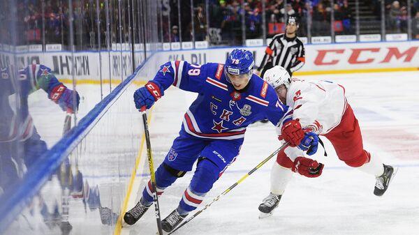 Хоккей. КХЛ. Матч СКА – Витязь
