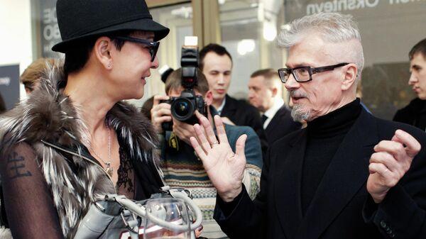 Политик Ирина Хакамада и лидер движения Другая Россия Эдуард Лимонов