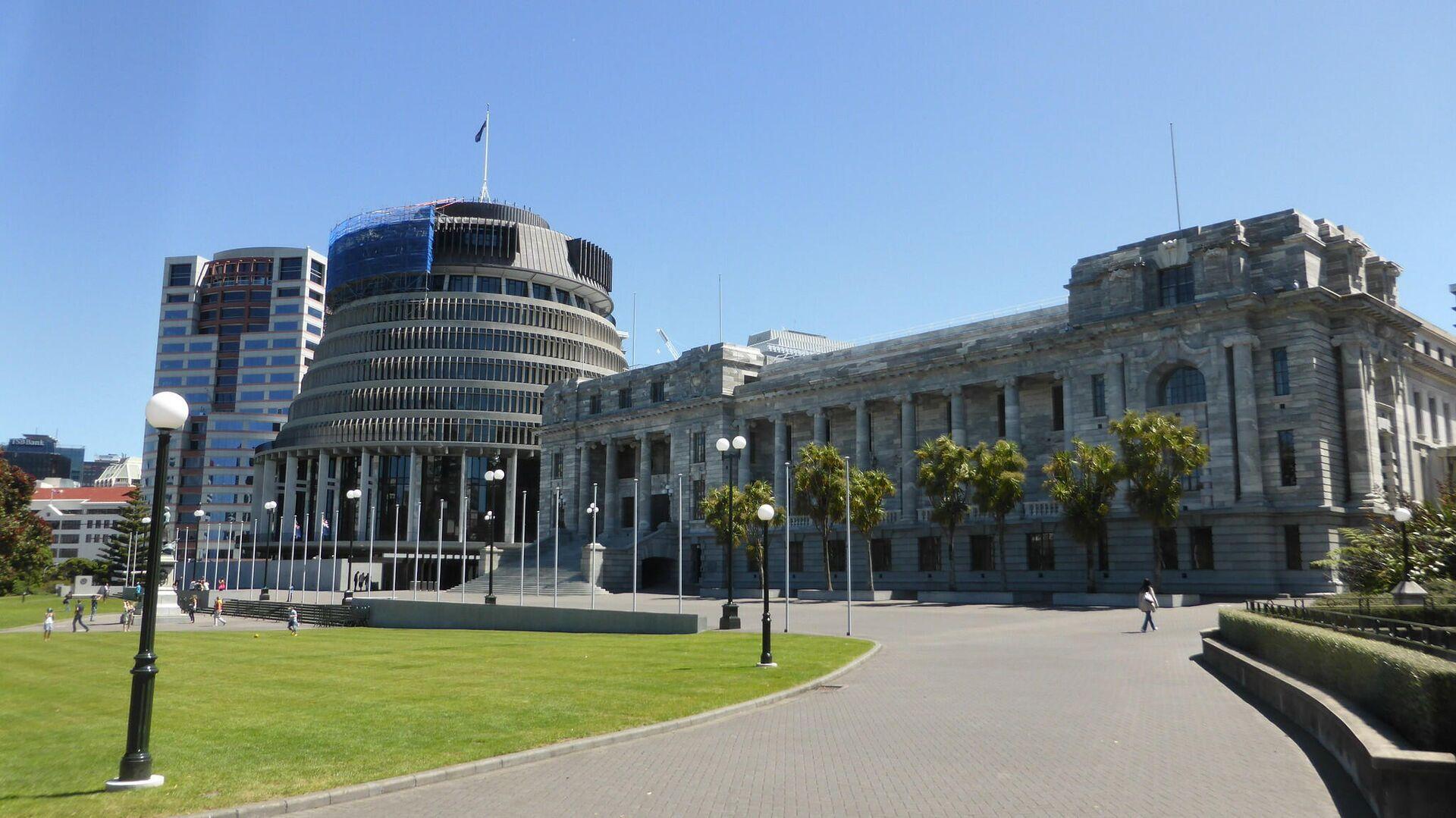 Здание парламента Новой Зеландии - РИА Новости, 1920, 02.12.2020
