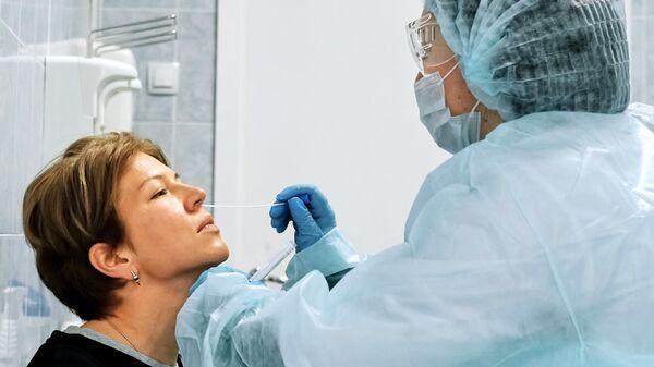 Обследование на коронавирус жителей Санкт-Петербурга