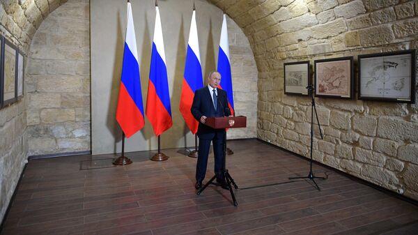 Путин оценил попытки поставить под сомнение принадлежность Крыма