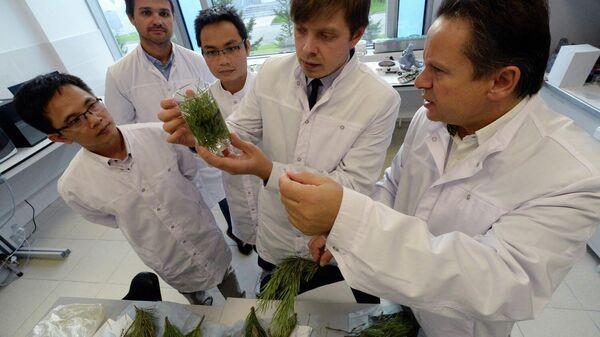 Сотрудники лаборатории
