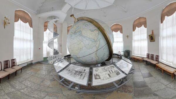 Большой Готторпский глобус - самый большой экспонат Кунсткамеры