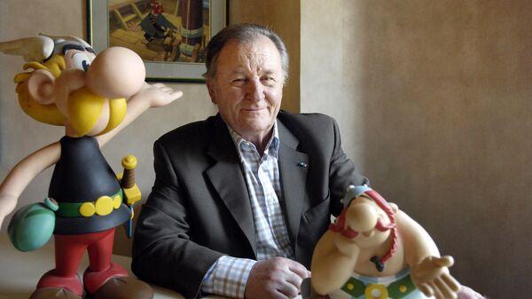 Французский художник комиксов Альбер Удерзо