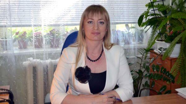 Директор управления соцзащиты населения Воробьевского района Анна Мирошниченко