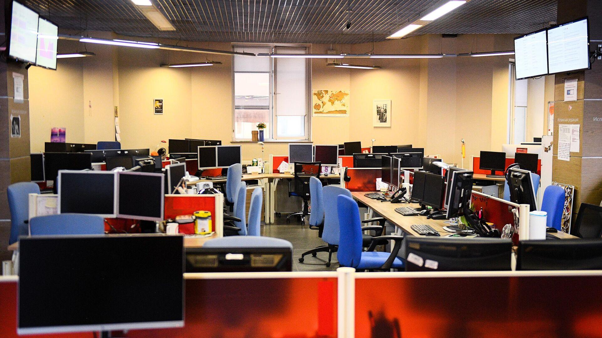 Офис в здании МИА Россия сегодня в Москве - РИА Новости, 1920, 02.10.2020