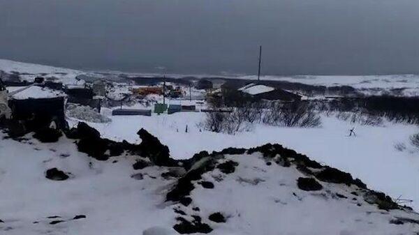 Эвакуация жителей Северо-Курильска