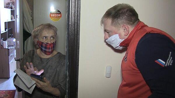 Вирус помощи: волонтеры ОНФ помогают пенсионерам в период карантина