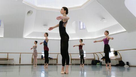 Репетиция артистов балета