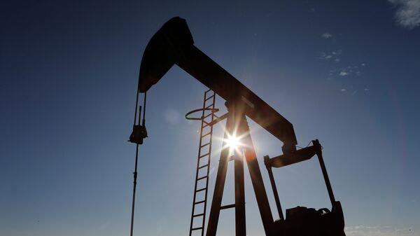 Нефтяной насос-качалка в штате Техас
