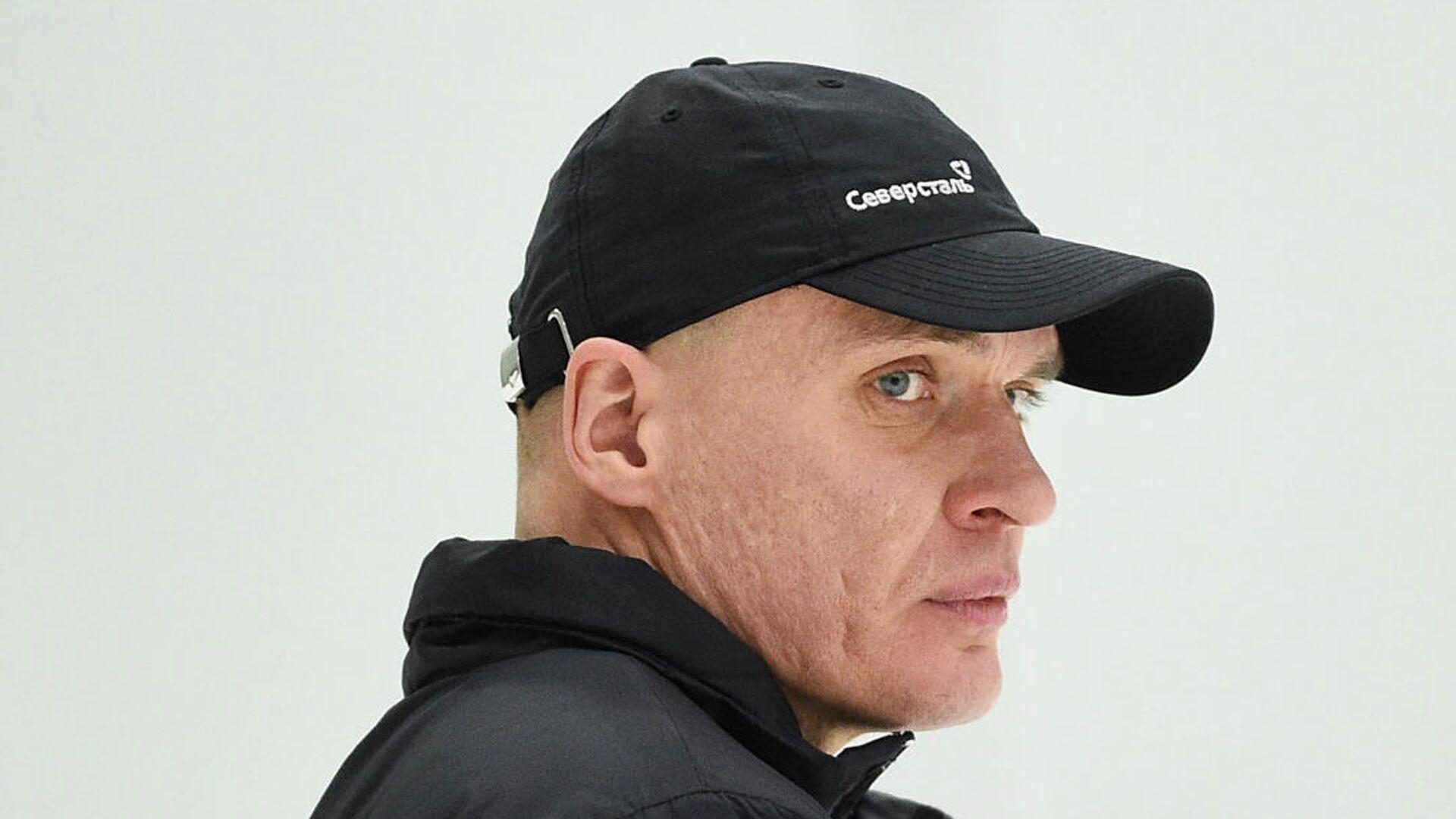 Главный тренер хоккейного клуба Северсталь Андрей Разин - РИА Новости, 1920, 18.11.2020