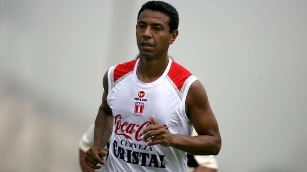 Бывший футболист сборной Перу Нолберто Солано