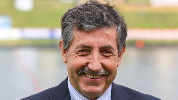 Президент Международной федерации каноэ Хосе Перурена