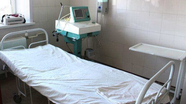 Палата в больнице для заразившихся коронавирусом