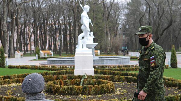 На Ставрополье казаки следят за соблюдением домашнего режима