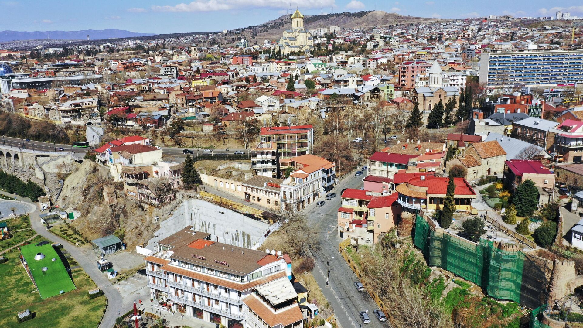 Вид на Тбилиси, Грузия - РИА Новости, 1920, 05.03.2021