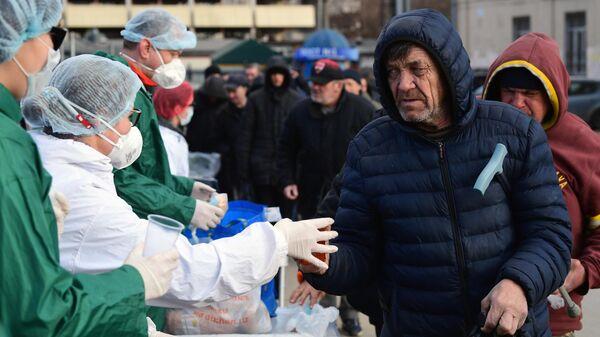 Бездомные в Москве
