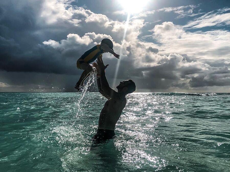 Денис Клявер в Доминикане