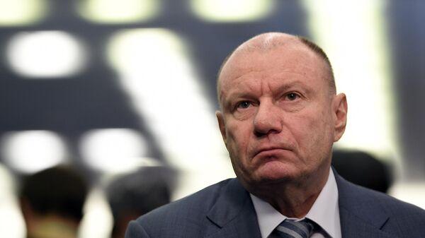 Президент, председатель правления компании ГМК Норильский никель Владимир Потанин