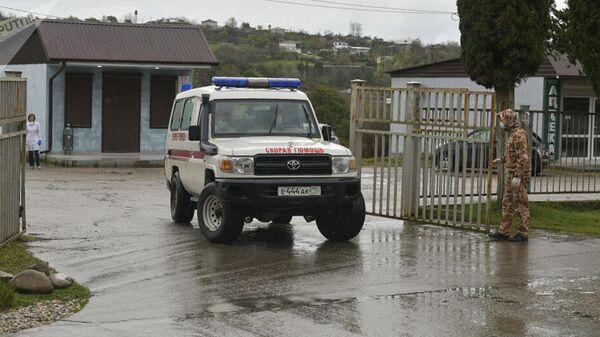 Автомобиль скорой помощи в Абхазии