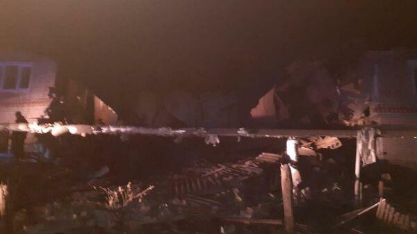 В жилом доме в Нижегородской области произошел взрыв газового баллона