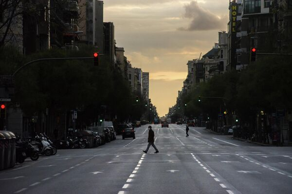 Ситуация в Барселоне в связи с коронавирусом