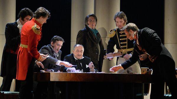 Показ спектакля Маскарад в Малом театре
