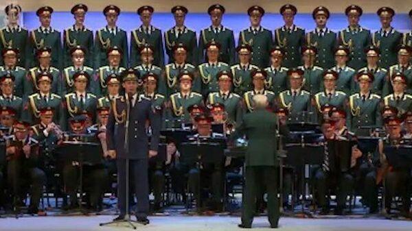 Ансамбль Александрова спел для итальянцев, сражающихся с коронавирусом