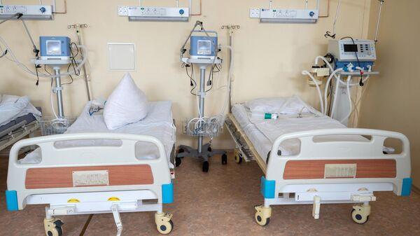 Реанимационное отделение в госпитале для ветеранов войн в Петрозаводске