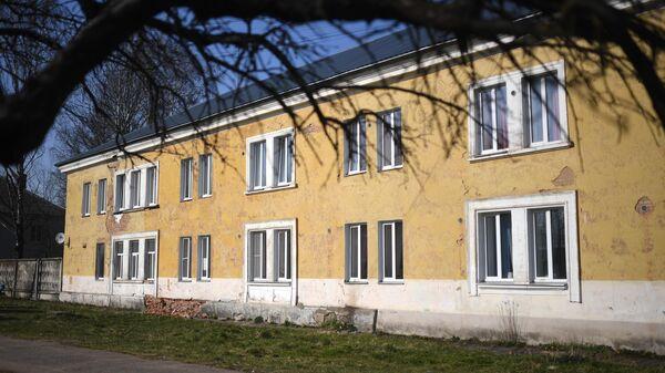 Здание дома-интерната для престарелых в Вязьме
