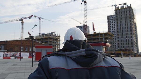 Строительство жилого комплекса в Москве