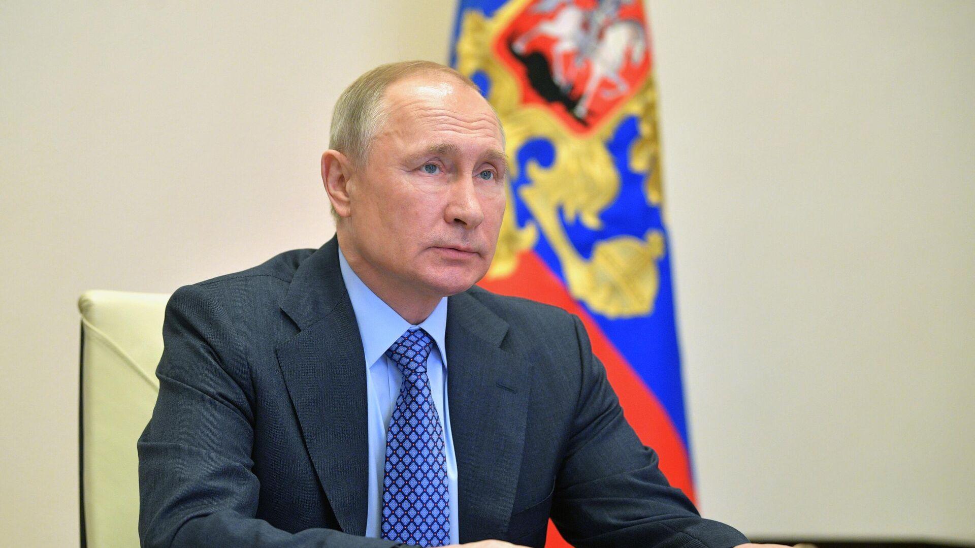 Президент РФ Владимир Путин  - РИА Новости, 1920, 29.10.2020