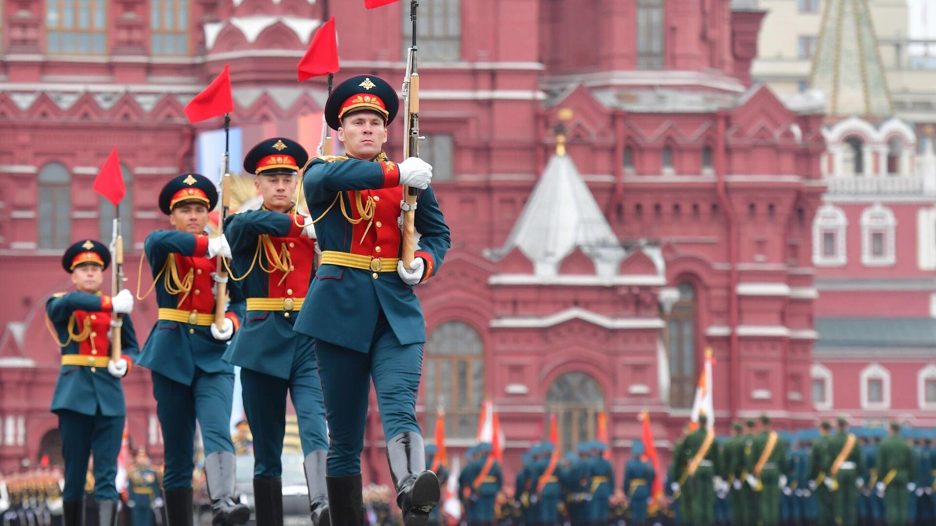 Военный парад, посвящённый годовщине Победы в Великой Отечественной войне - РИА Новости, 1920, 09.05.2021